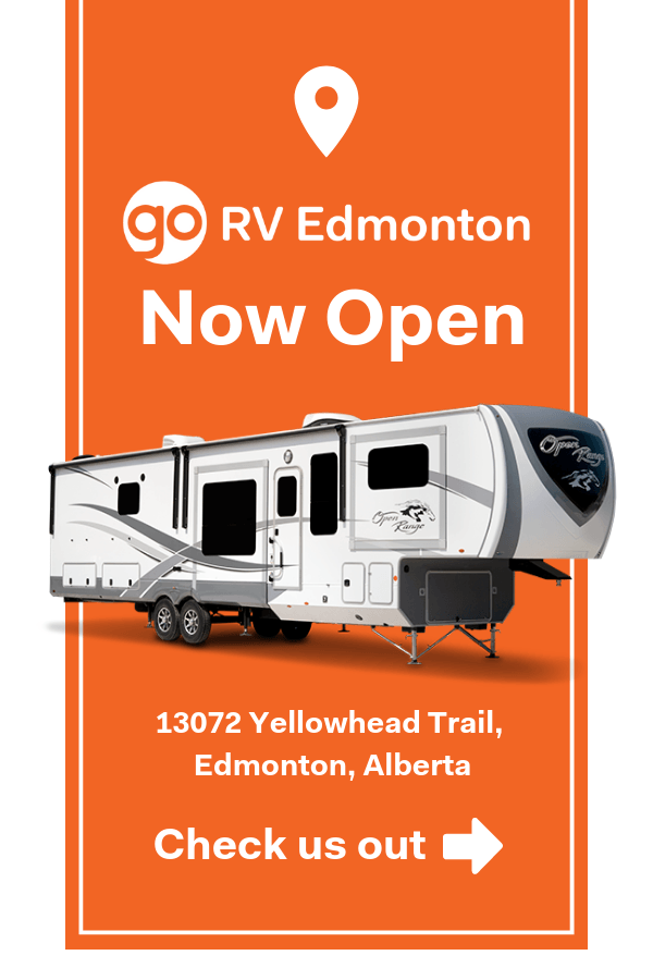Go RV Edmonton Now Open