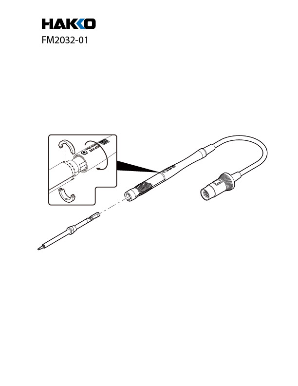 Hakko FM-2032 Micro Soldering Iron