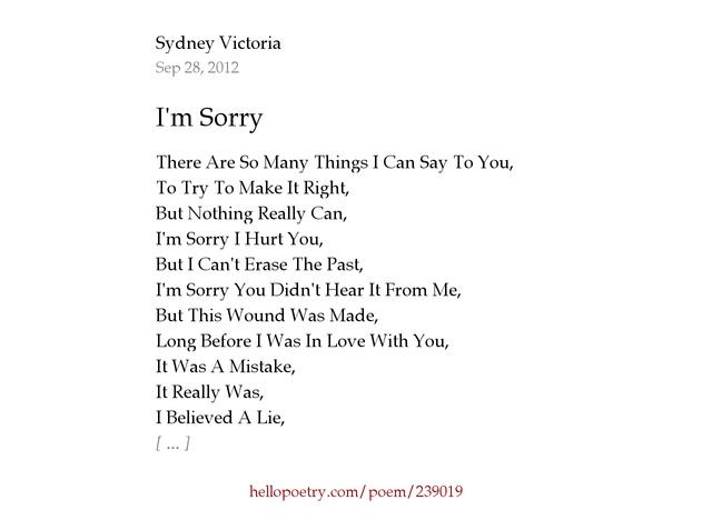 love poems sorry i hurt you