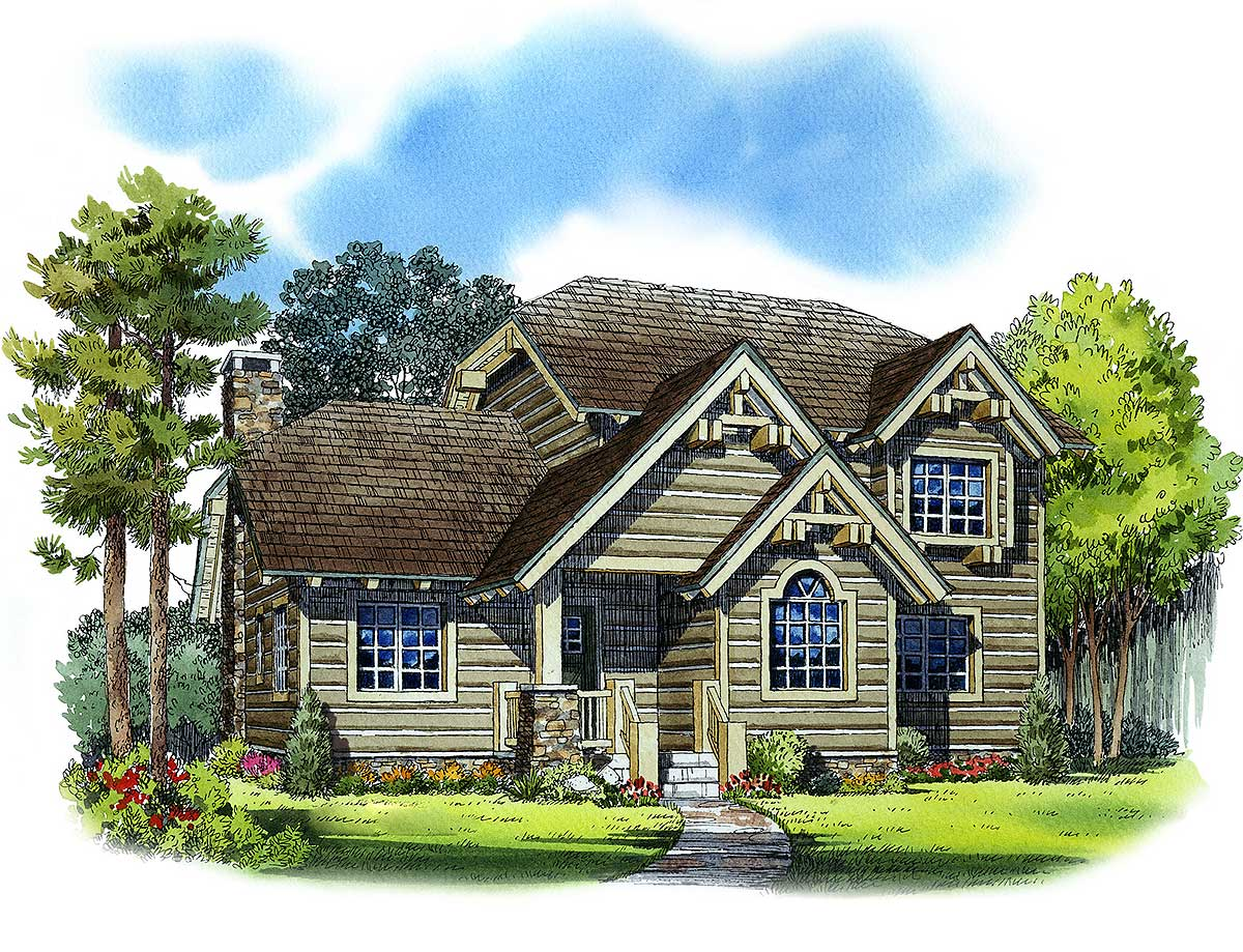 Architectural Designs House Plans Mountain