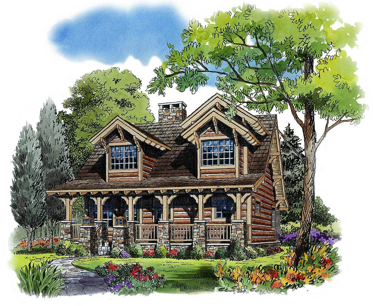 Rustic 4 Bedroom House Plans