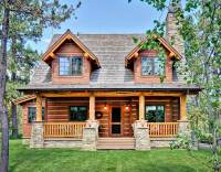 Log Home Plans - Architectural Designs