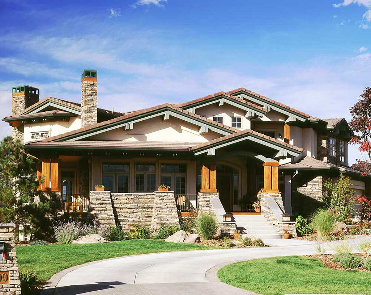 Stunning Mountain Home Plan - 11552kn Architectural