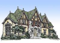 Impressive English Tudor - 11603GC | Architectural Designs ...