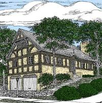 English Tudor Home Plan - 11615GC | Architectural Designs ...