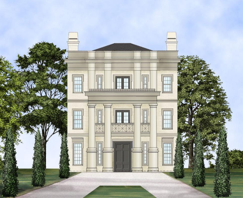 Neoclassical House Plans Home