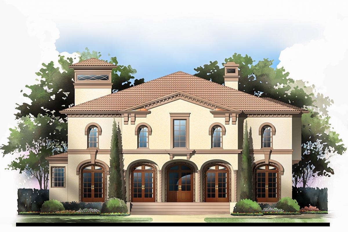 Tuscan Villa With 2 Master Suites - 12282jl
