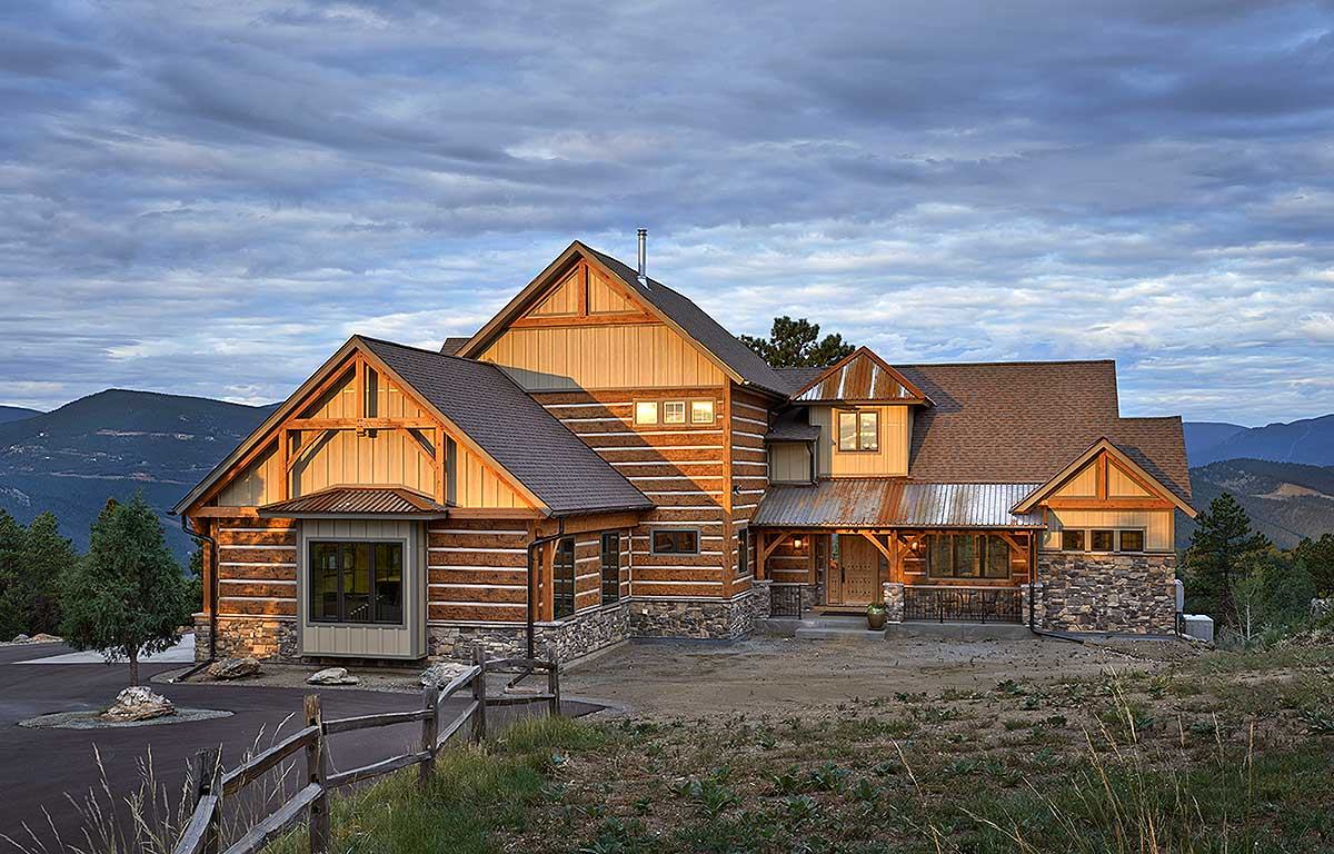 Dream Mountain Home Plan 12933KN Architectural Designs