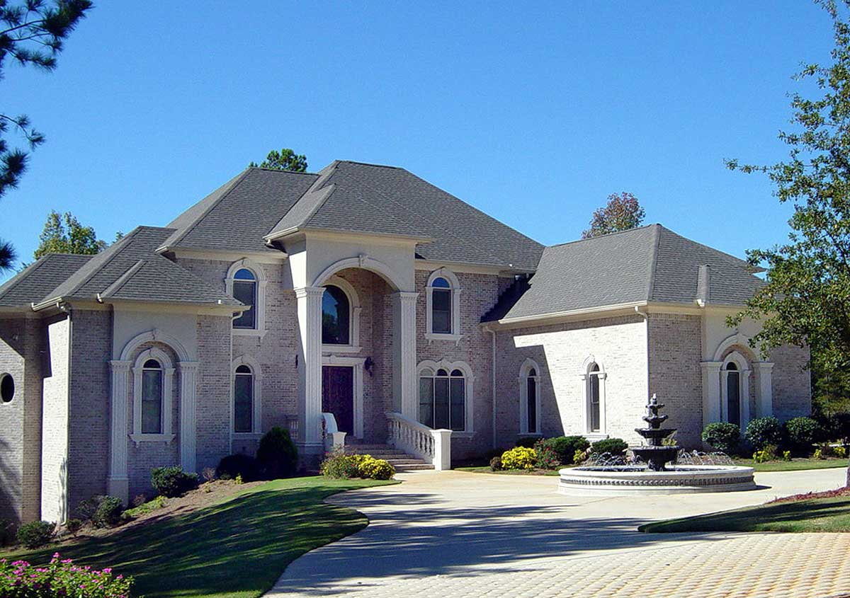 Luxury 5 Bedroom House Plan - 13438by Architectural