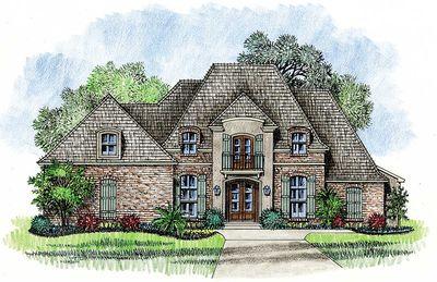 Graceful And Elegant 4 Bed Acadian House Plan 14127kb