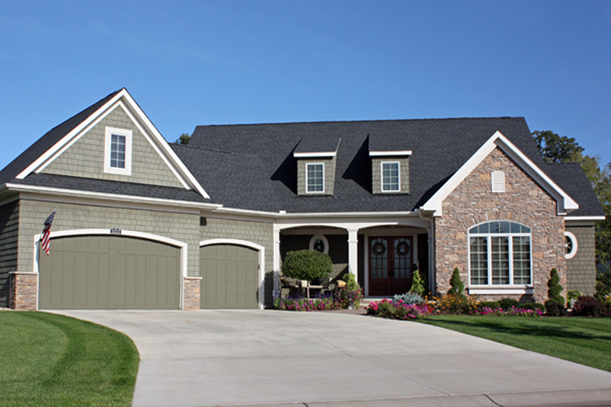 House Plans with Angled Garage
