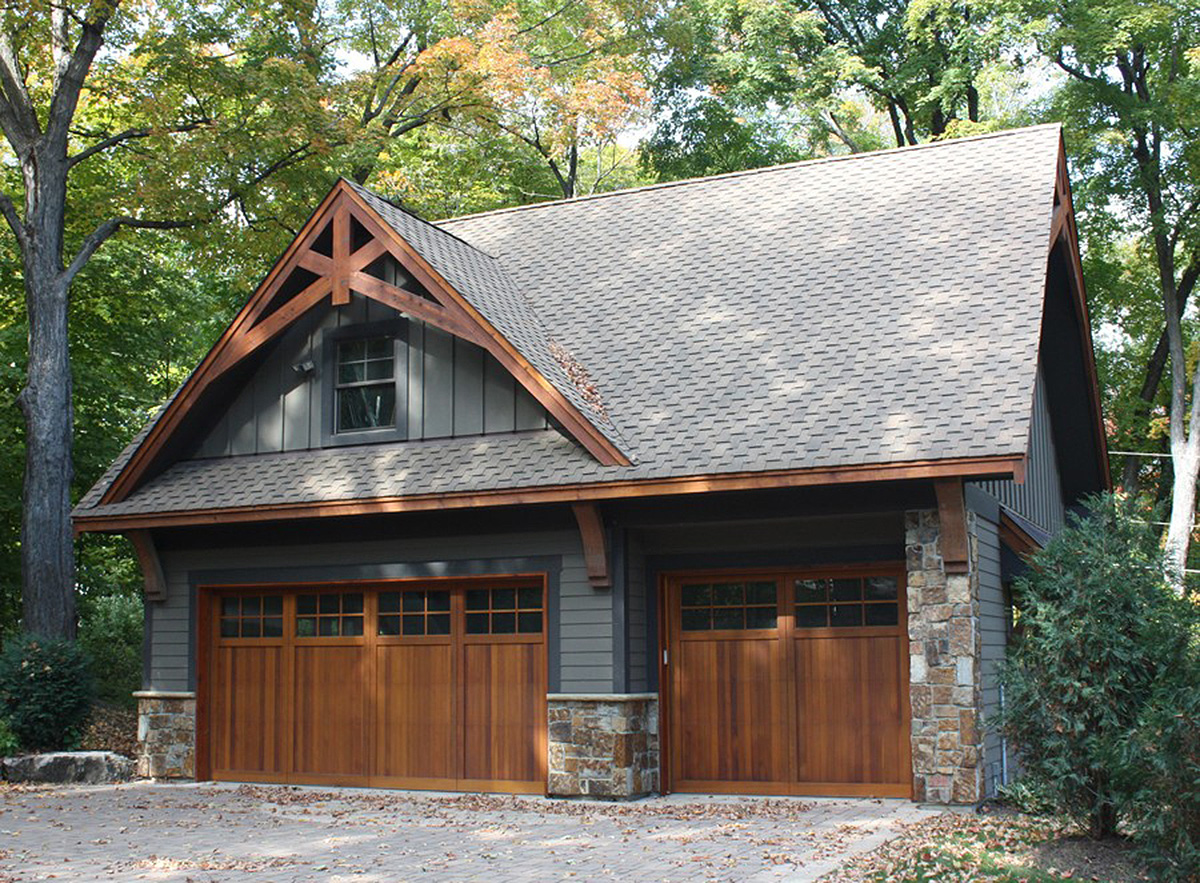 Rugged Garage With Bonus Room Above - 14630rk