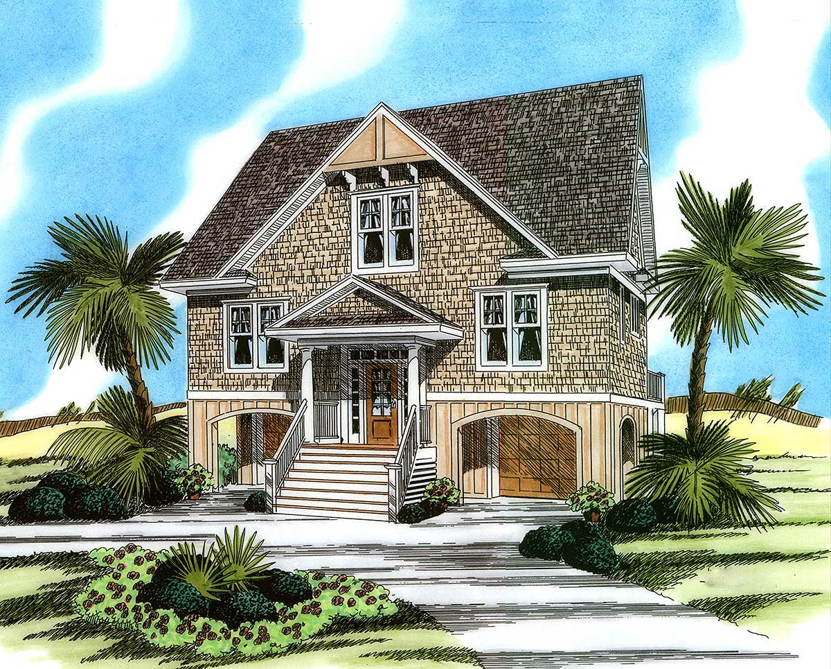 Low Country House Plan Designs