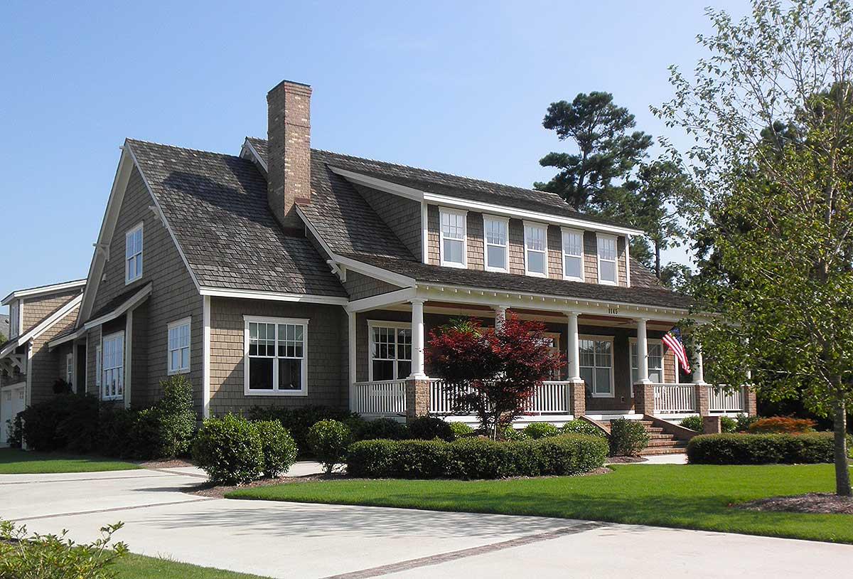 Attractive Beach Cottage - 15029nc Architectural Design