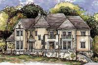Luxurious European Home Plan - 15335HN | Architectural ...