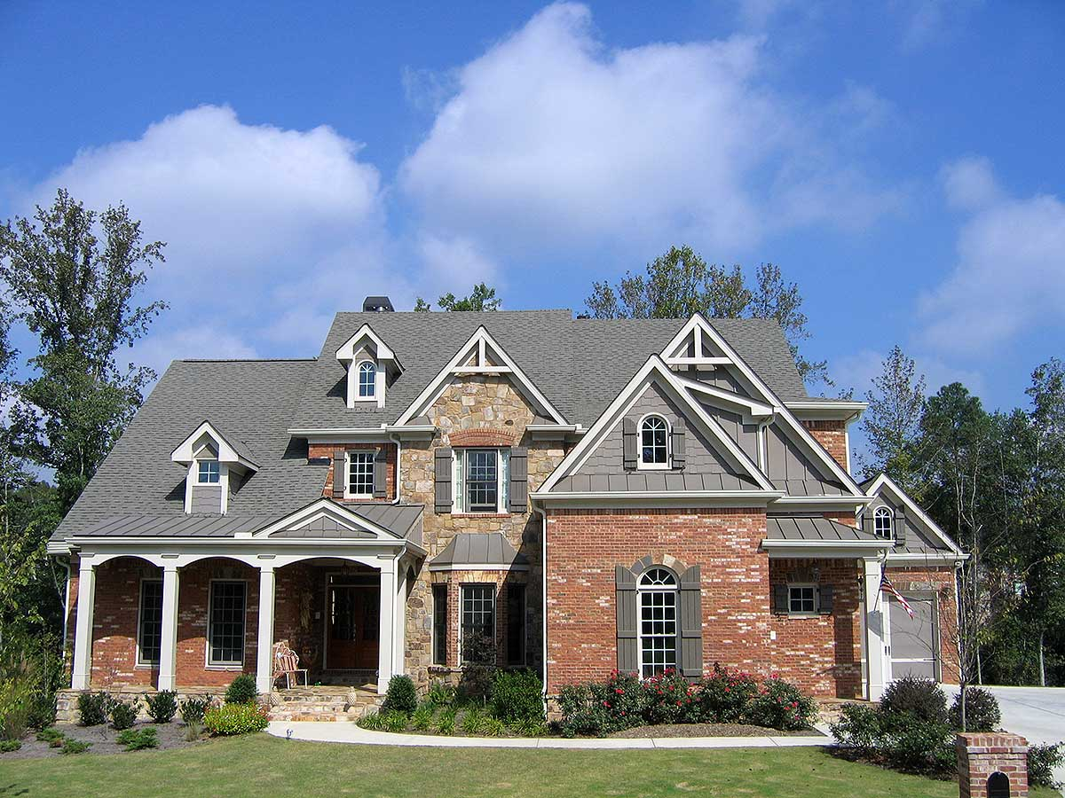 Brick and Stone House Plans