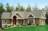Craftsman-Inspired Ranch Home Plan - 15883GE ...