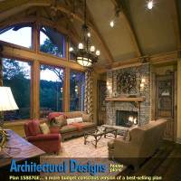 Home plans cathedral ceilings - House design plans