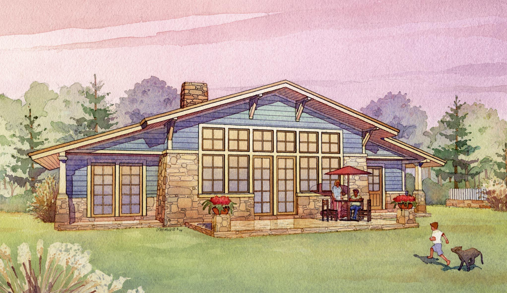 Passive Solar House Plans
