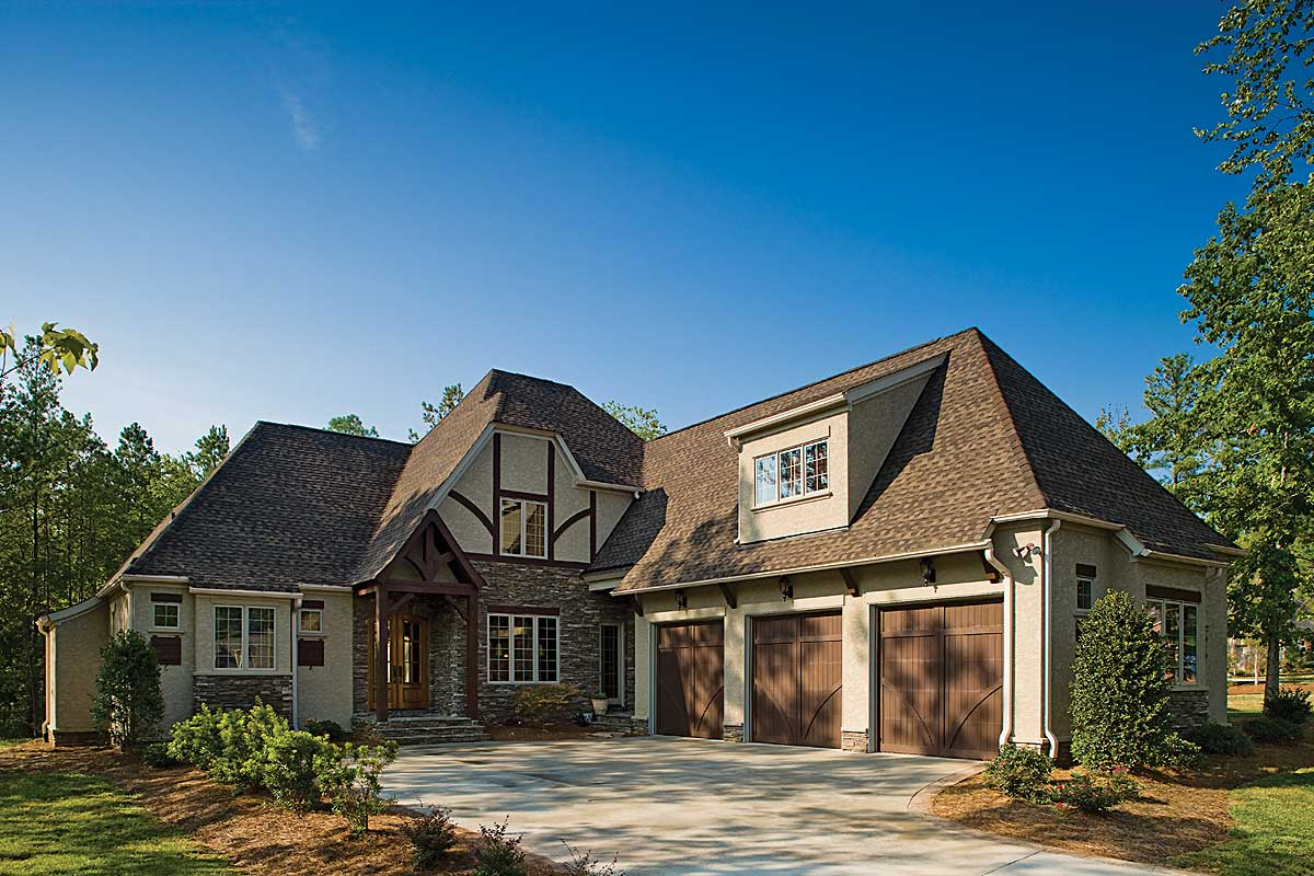 Stucco and Stone Home Plans