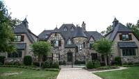 Grand French Country Chateau - 17751LV | Architectural ...
