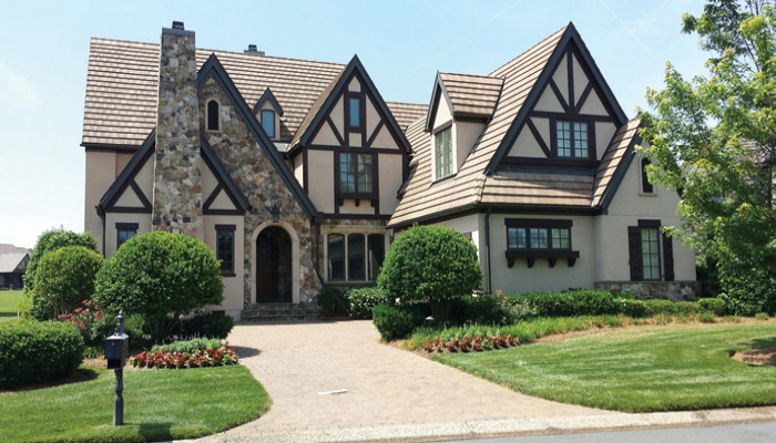 Marvelous Tudor House Plan 17788LV Architectural