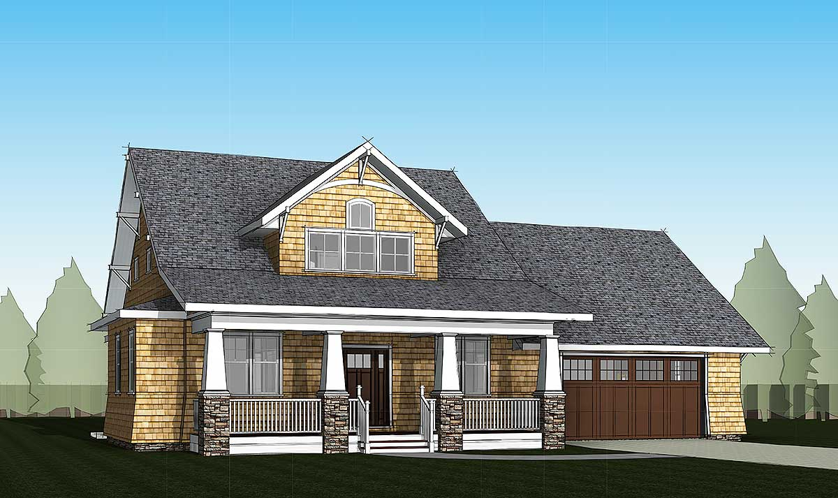 4 Bed Storybook Bungalow  18280be  Architectural Designs