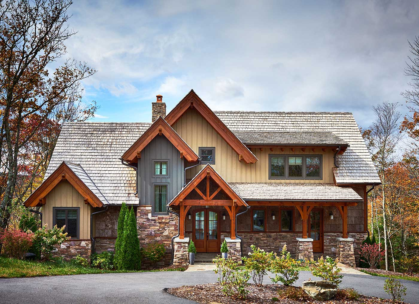Informal Mountain Living 18716ck Architectural Designs