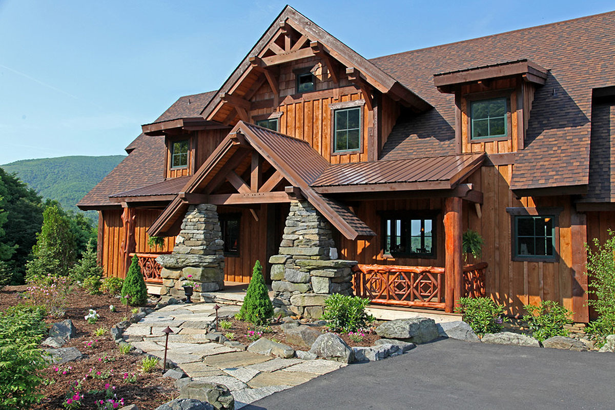 Rustic Timber Frame Home Plans