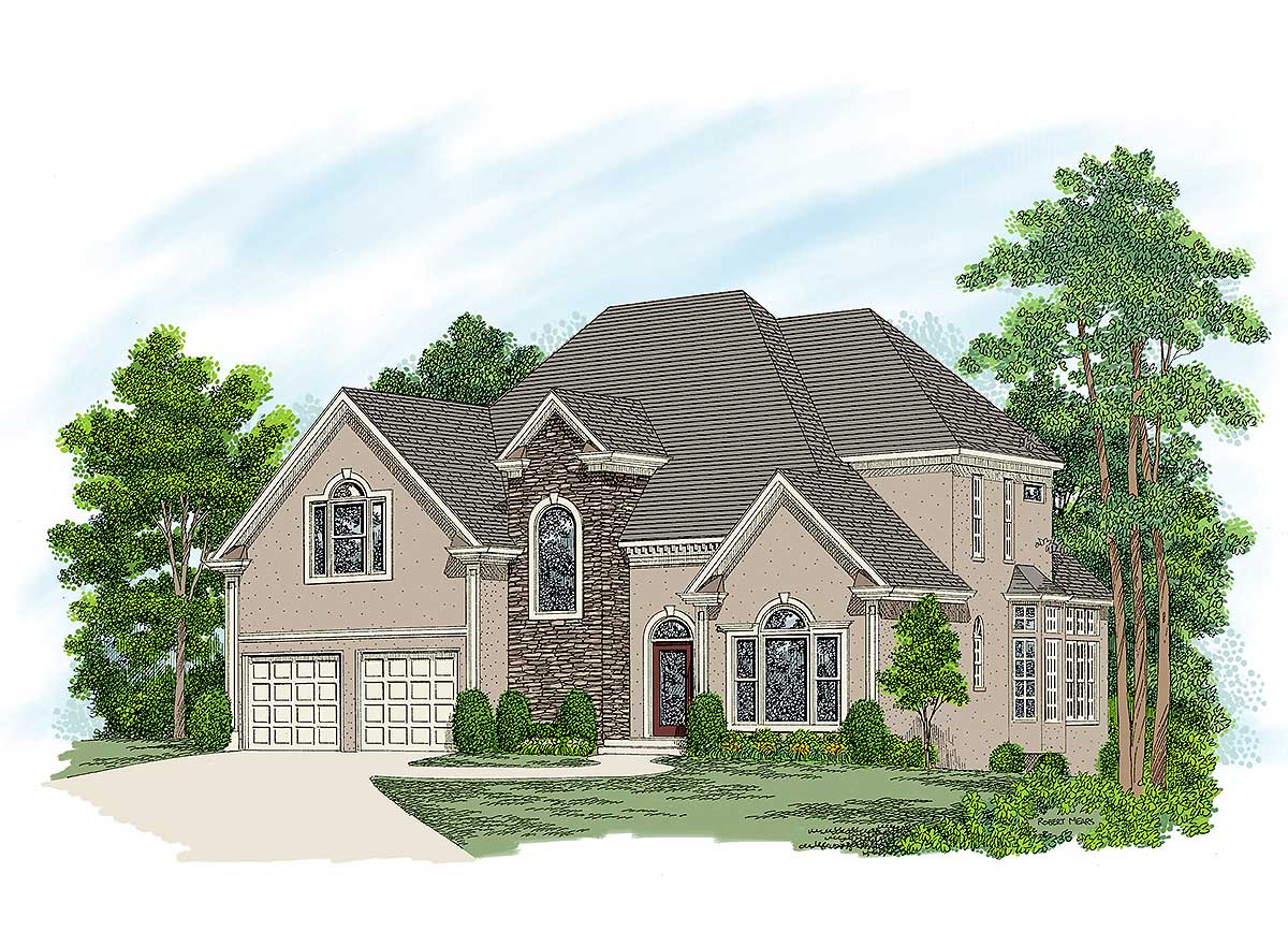 Stucco Home Plans and Designs