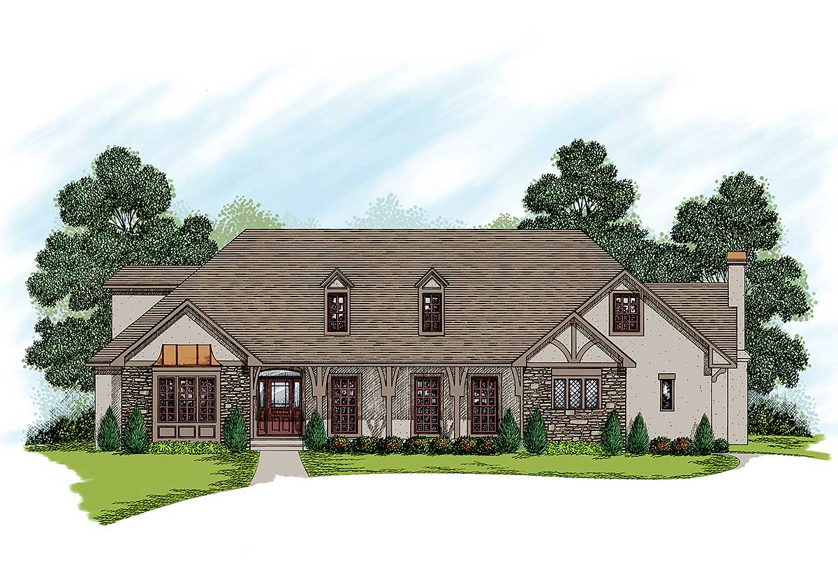 Traditional 2 Story House Plans