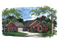 Traditional Ranch House Plan - 2037GA | Architectural ...