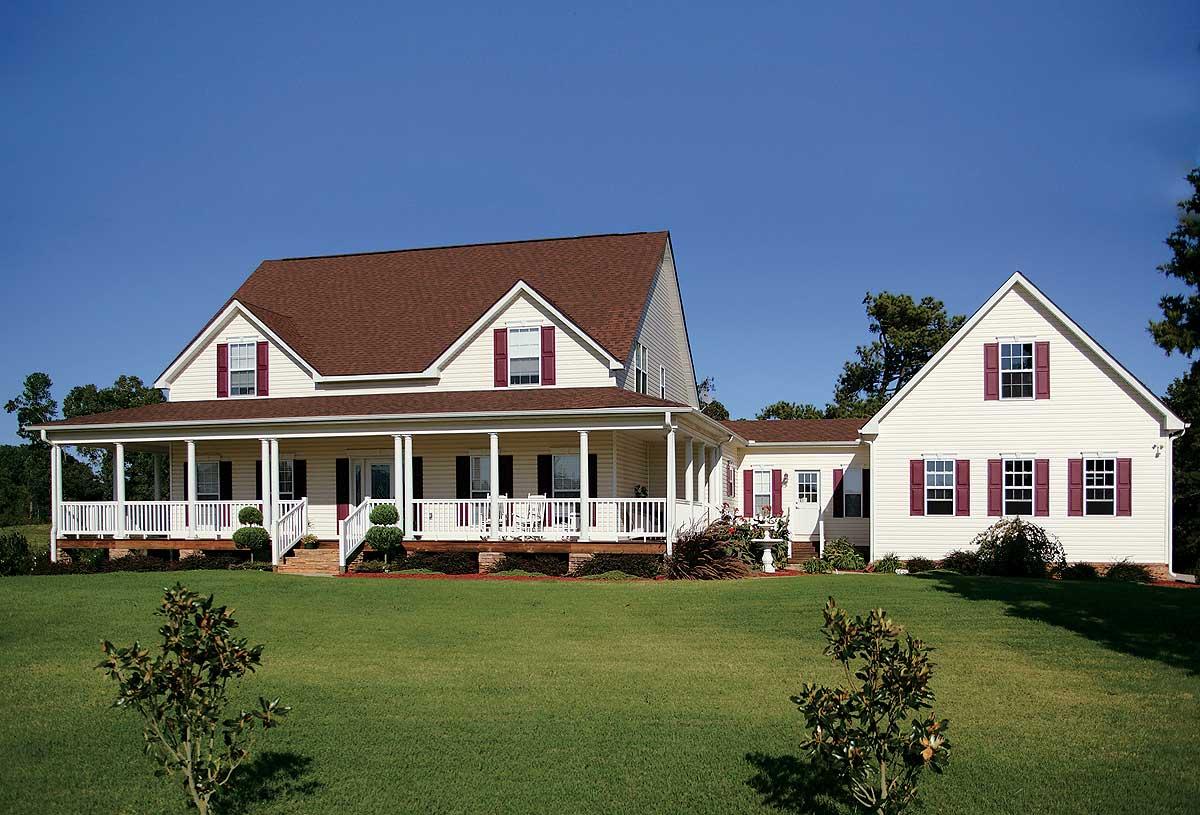Quaint Country Home Plan - 2049ga Architectural Design