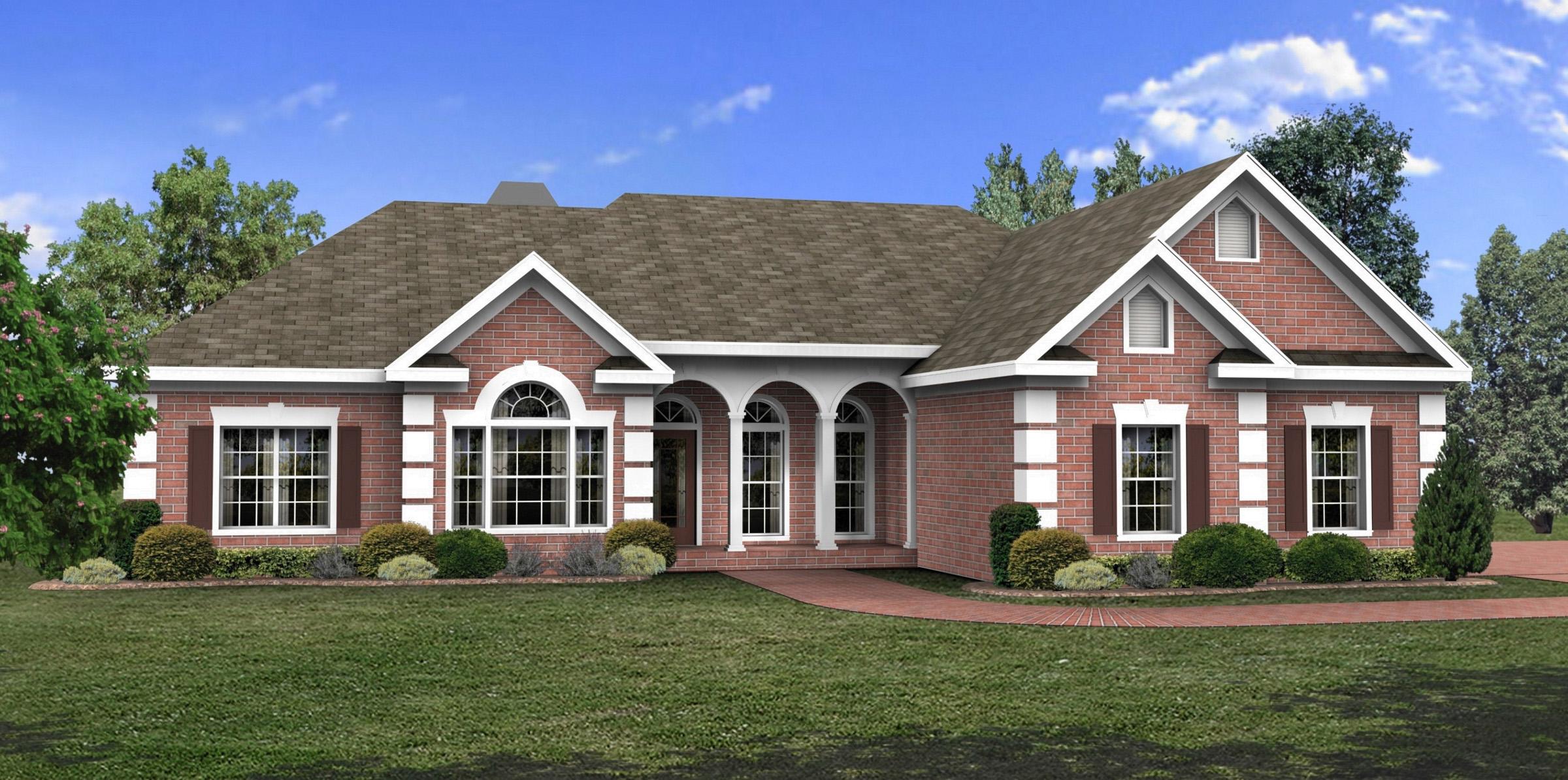 Elegant Ranch House Plans