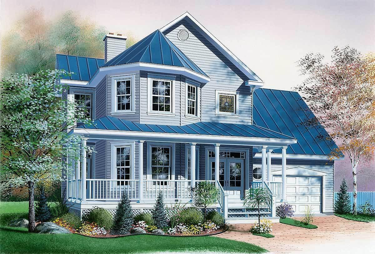 2 Story Farm House Designs