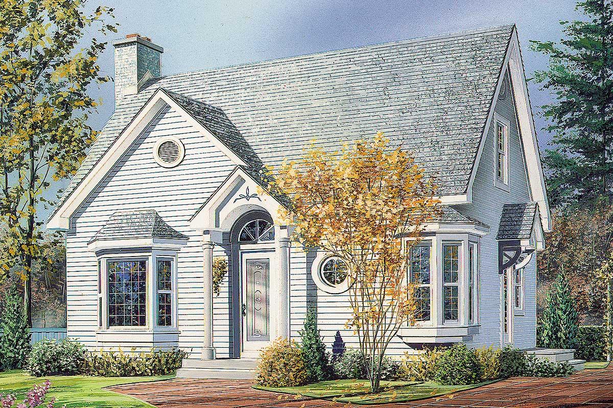 English Cottage - 2103dr Architectural Design House Plans