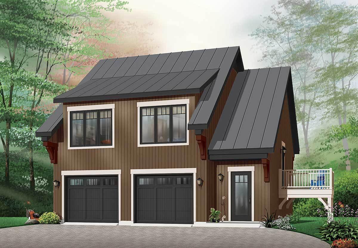 Comfortable Garage Apartment - 21207dr Architectural