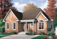 Economical 2 Bedroom Brick House Plan - 21213DR ...