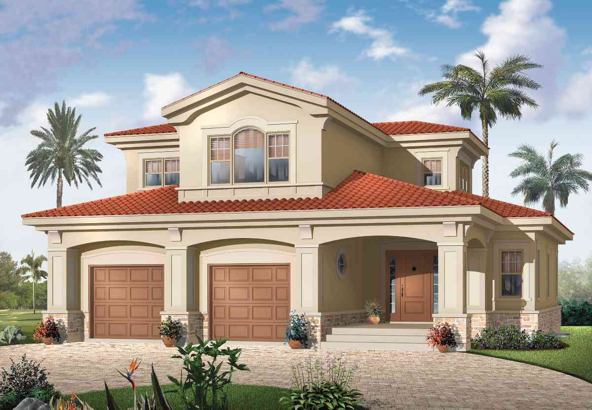 Spanish Mediterranean Style House Plans