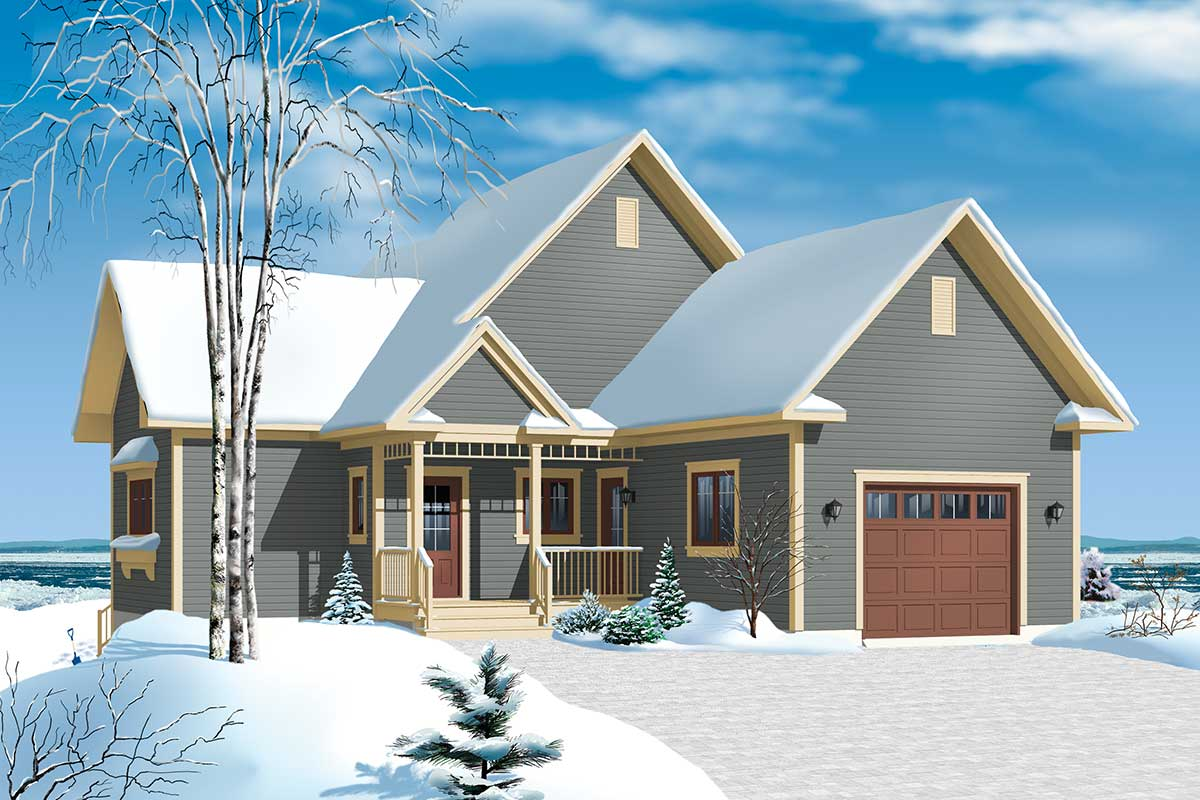 Panoramic View Chalet - 21959dr Architectural Design
