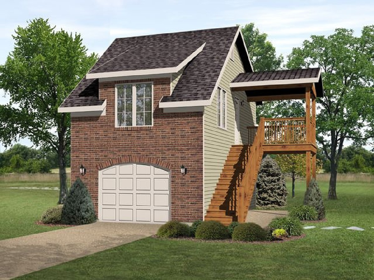 House with Garage Apartment Plans