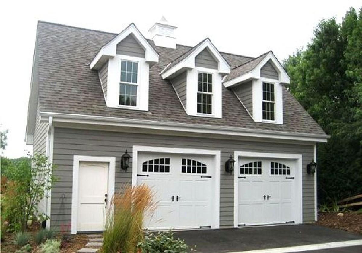 3 Car Garage Plans with Loft Apartment