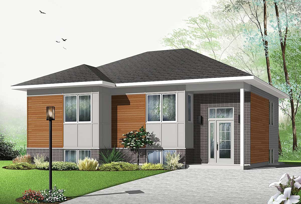 Modern Split Level Home Plans