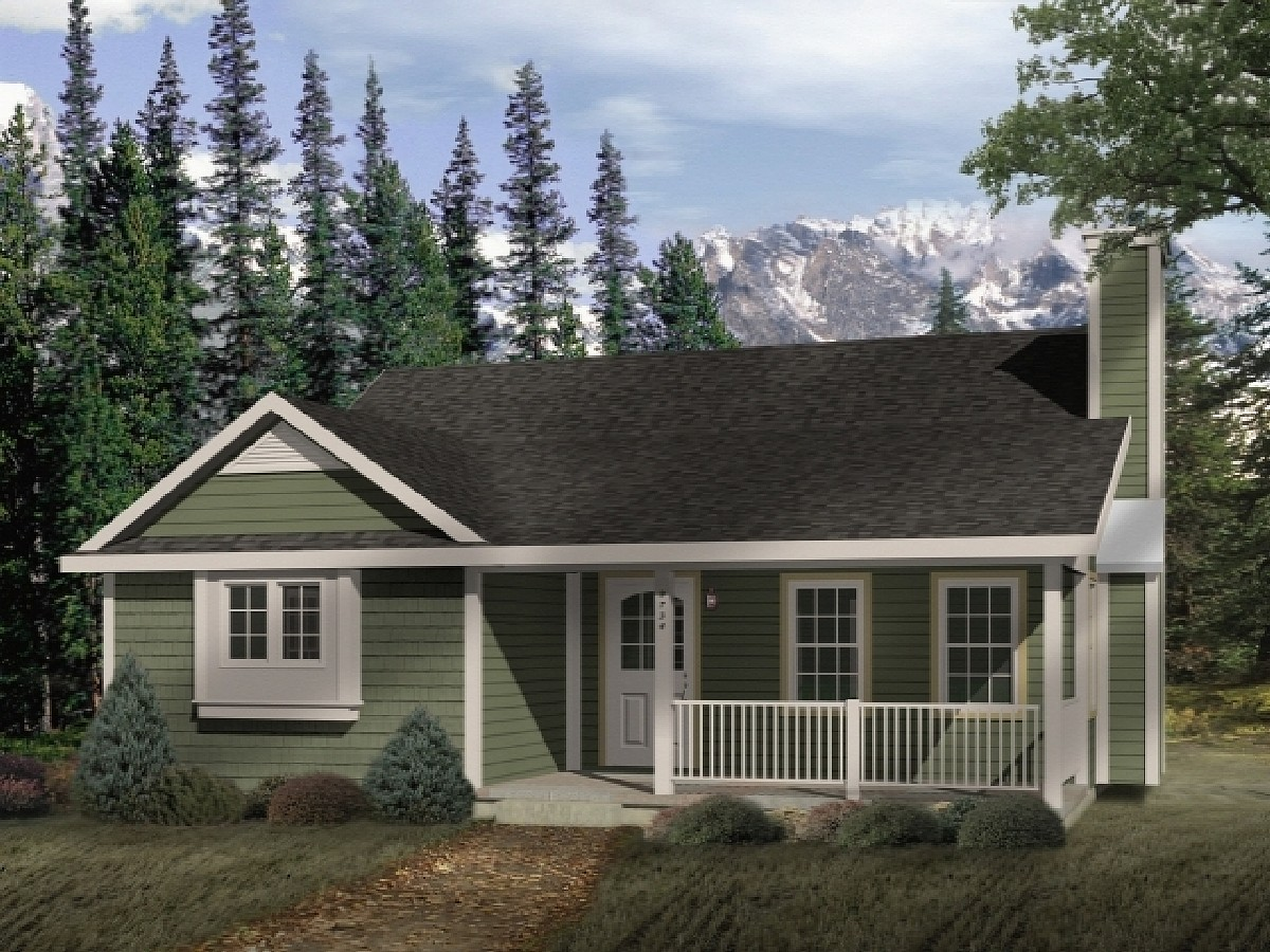 Country Style Cottage 2254sl Architectural Designs