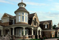 Luxurious Shingle-Style Home Plan - 23394JD ...