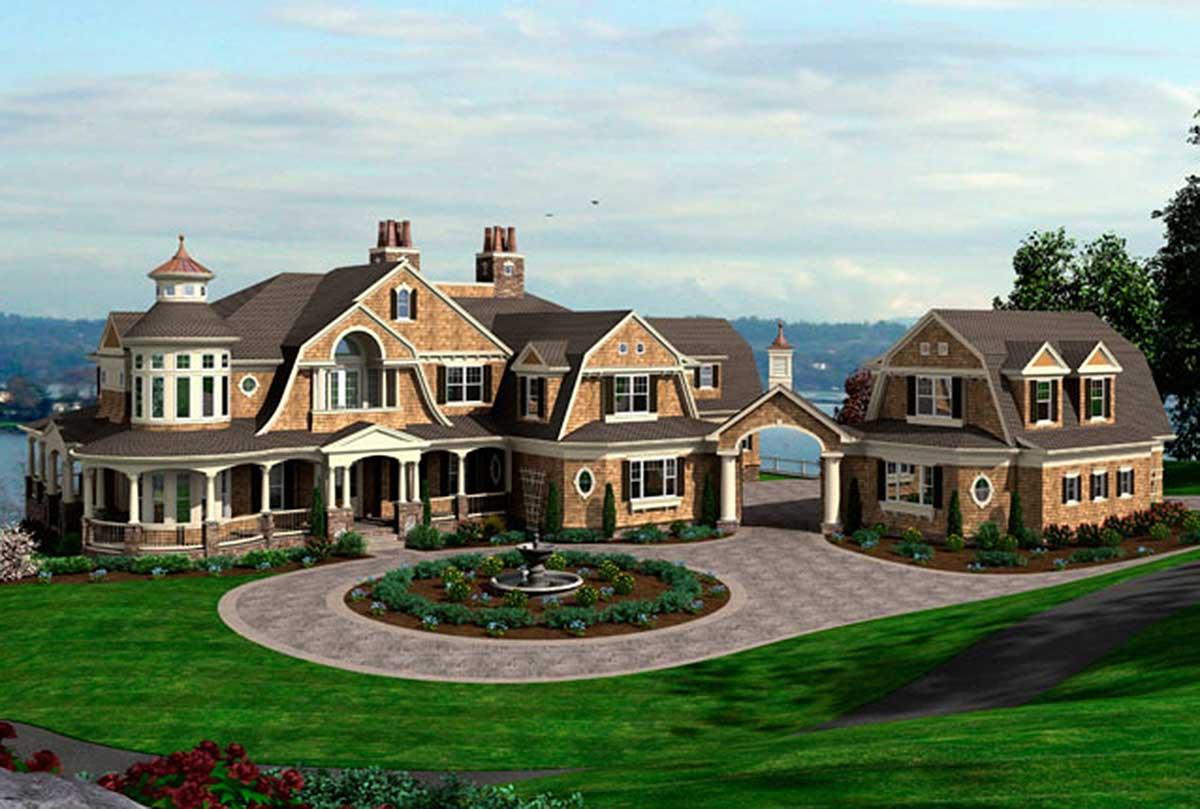 Luxury Craftsman Home Plans