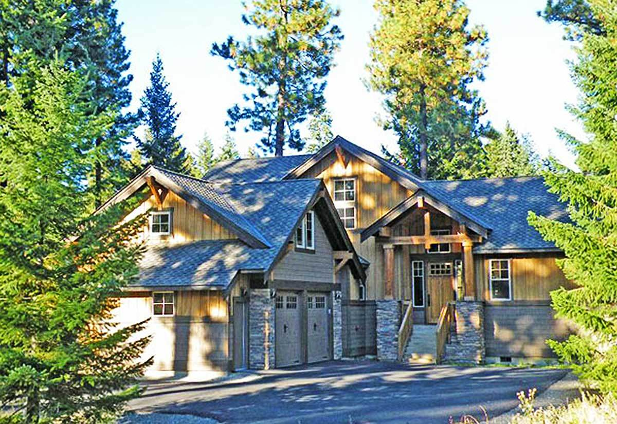 Marvelous Mountain Home - 23483jd Architectural Design