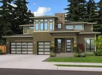 Contemporary Prairie Home Plan - 23507JD | Architectural ...