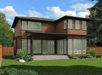 Custom Contemporary Home Plan