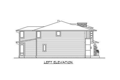 Custom Contemporary Home Plan